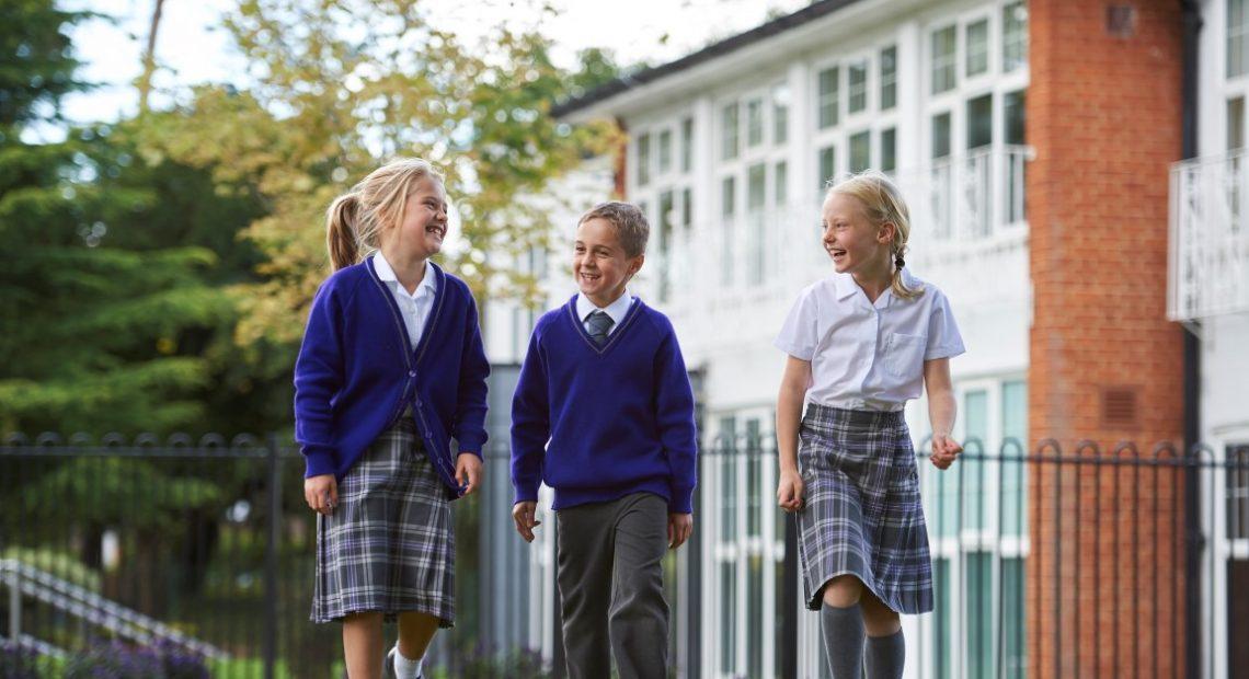Spreadeagle in school uniform pic