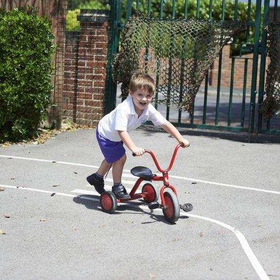 Outdoor Play at Nursery