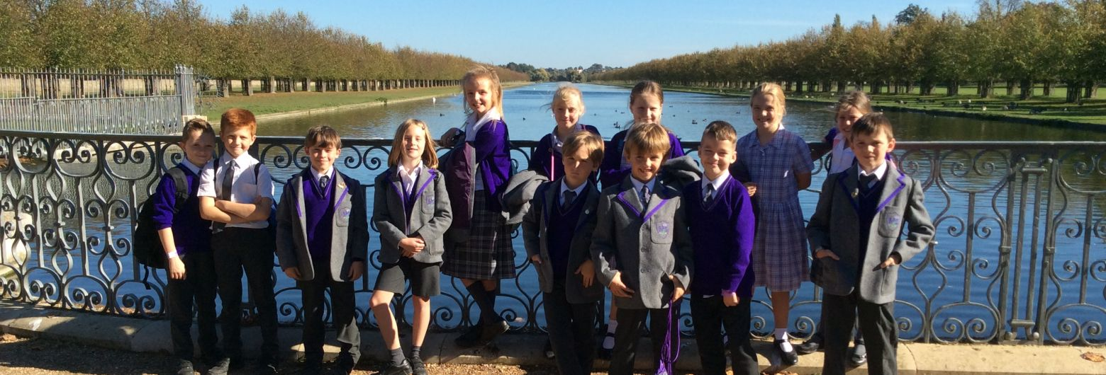 Year 5 Trip to Hampton Court