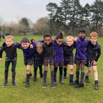 U8A Tag Rugby Team