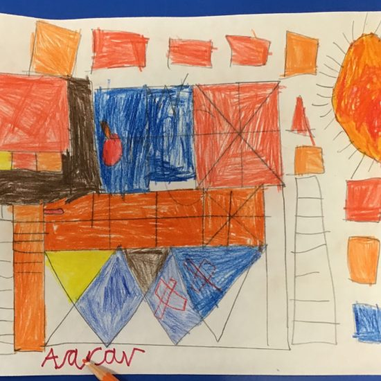 'Castle and Sun' by Aarav