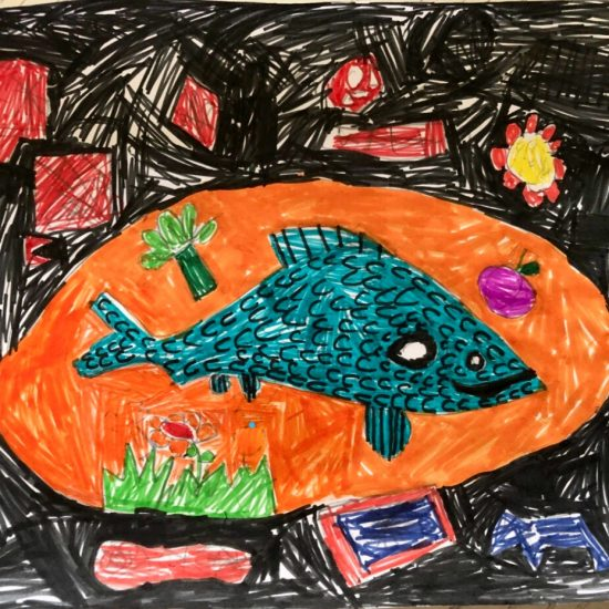 'Around the fish' by Aaron