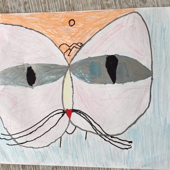 'Cat and Bird' by Amara