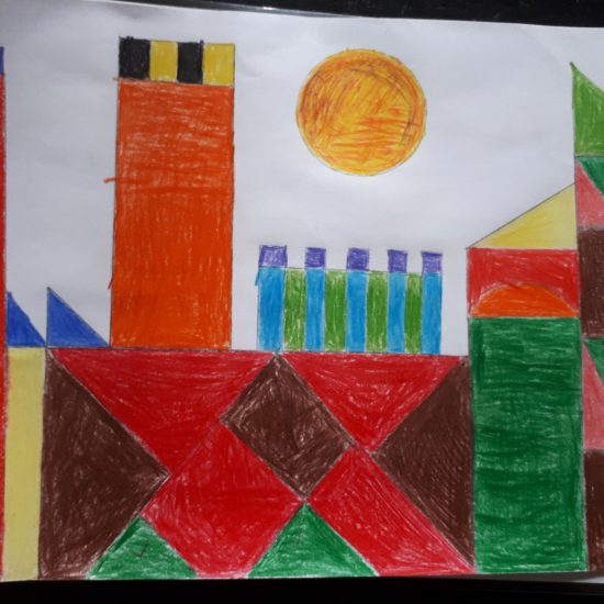 'Castle and Sun' by Calum