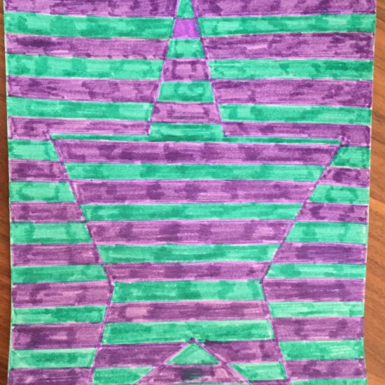 'Op Art' by Eve
