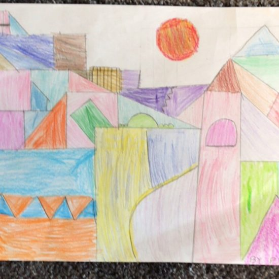 'Castle and Sun' by Pranika