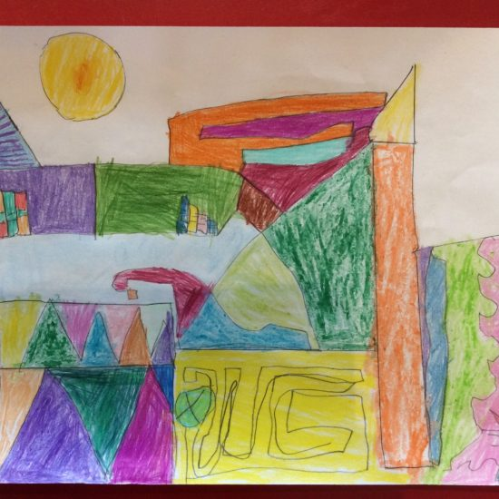 'Castle and Sun' by Zaid